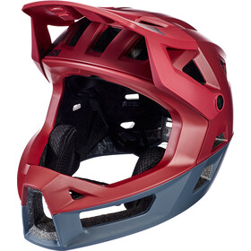 IXS Trigger FF Helmet night red